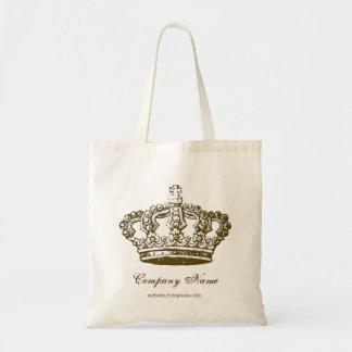 Vintage französische Kronen-personalisierte Tasche