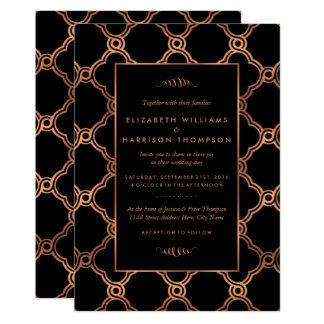 Vintage hochzeits einladungen for Geometrische deko