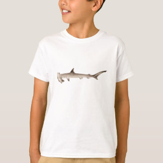 Vintage Hammerhai-Haifisch-Illustrations-Retro T-Shirt