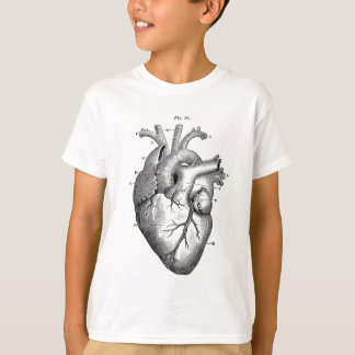 Vintage Herz-Anatomie | kundengerecht T-Shirt