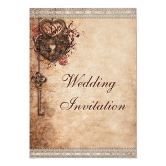 Shop Zazzle's selection of vintage wedding invitations for your special day!