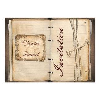 Vintage Hochzeit Einladungskarten