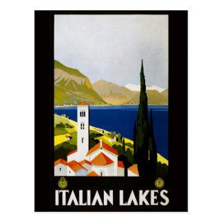 Vintage italienische See-Italien-Postkarte Postkarte