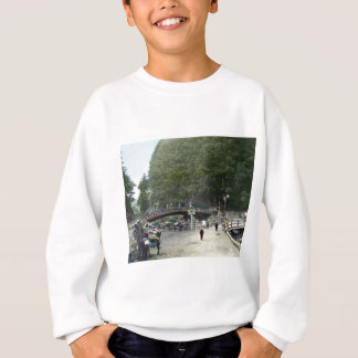 Vintage japanische rote Brücke Tokyo Sweatshirt