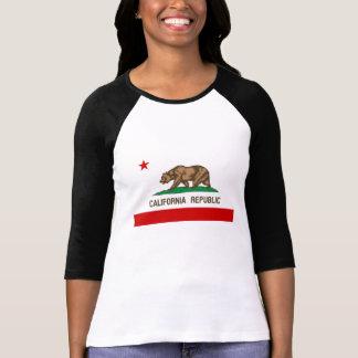 Vintage Kalifornien-Republik-Staats-Flagge T-Shirt