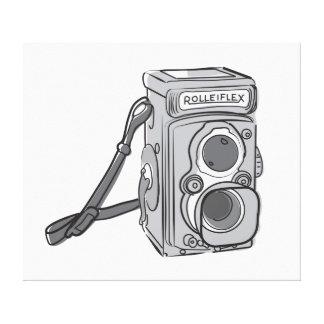 Vintage Kamera Gespannter Galerie Druck