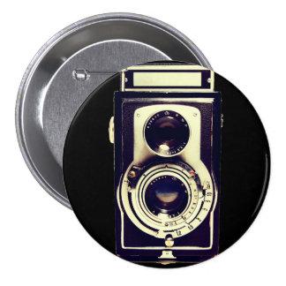 Vintage Kamera Runder Button 7,6 Cm