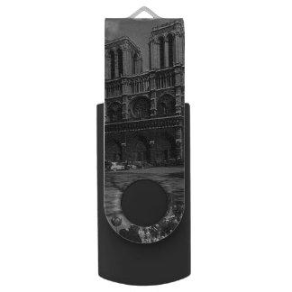 Vintage Kathedrale Frankreichs Paris Notre Dame USB Stick