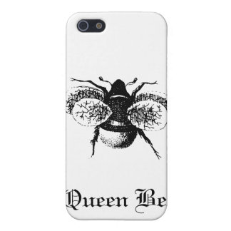 Vintage Königin-Biene iPhone 5 Cover