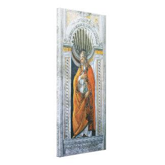Vintage Kunst, Heiliges Sixtus II durch Sandro Leinwanddruck