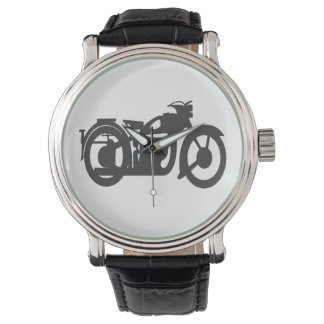 Vintage Motorrad-Uhr -2 Uhr