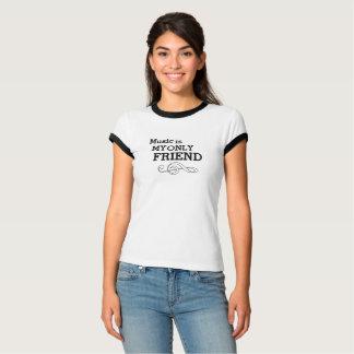 Vintage Musik ist mein nur Freund-Wecker T-Shirt