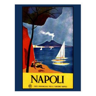 Vintage Napoli (Neapel) Italien Postkarte
