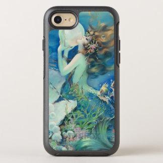 Vintage Perlen-Seeozean der Meerjungfrau-w OtterBox Symmetry iPhone 8/7 Hülle