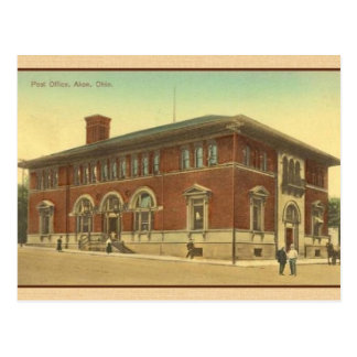 Vintage Post-Postkarte Akrons Ohio Postkarte