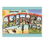 Vintage Postkarten Arizona