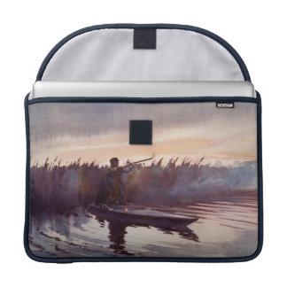 Vintage Prohülse Enten-Hunting See-Apples Macbook Sleeves Für MacBook Pro