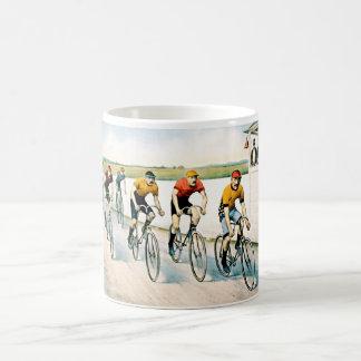 Vintage Radfahrer-Rennen-Geschenk-Tasse Tasse