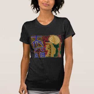 Vintage REIKI heilende Symbole, wie durch MEISTER T-Shirt