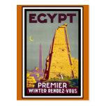 "Vintage Reise ""Ägyptens"" Postkarten"