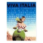Vintage Reise Italien - Postkarten