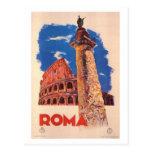 Vintage Reise Italien, Rom - Postkarten