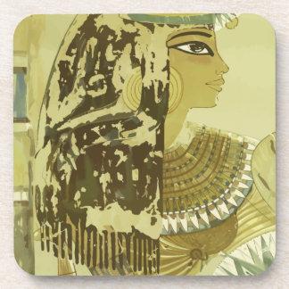 Vintage Reise Luxor Ägypten Untersetzer