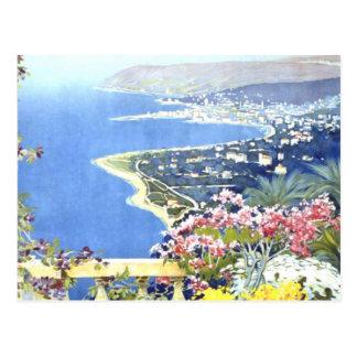 Vintage Reise San Remo Italien Europa Postkarte