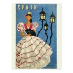 Vintage Reisepostkarte SPANIENS Postkarten