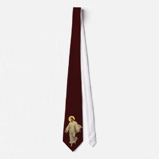 Vintage Religion, Porträt von Jesus Christus Individuelle Krawatte