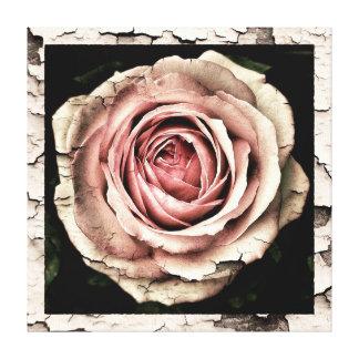 Vintage Rose Leinwanddruck