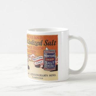 Vintage Salz-Anzeige Washington, Iowa Tasse