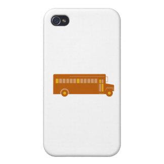 Vintage Schulbus-Seite Retro iPhone 4 Cover