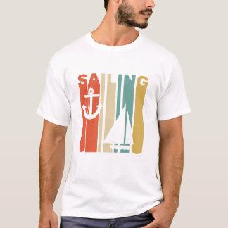 Vintage Segeln-Grafik T-Shirt
