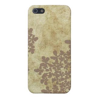 Vintage Spitze Brown-Königin-Anns iPhone 5 Schutzhülle