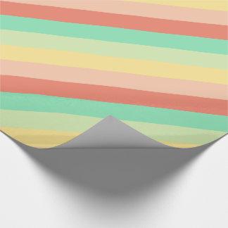 Vintage Süßigkeits-Glas-Streifen Geschenkpapier