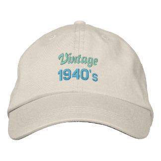 VINTAGE Vierzigerjahre Kappe
