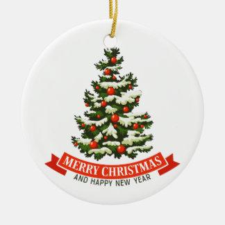 Vintage Weihnachtsbaum Ceraminc Verzierung Keramik Ornament