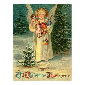 Vintage Weihnachtspostkarte Postkarte