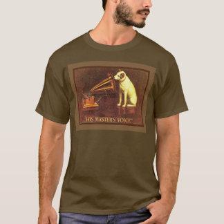 Vintage Werbung, seine Meisterstimme T-Shirt