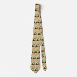 Vintage Western-Cowboys, Hopalong durch NC Wyeth Personalisierte Krawatten