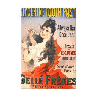 Vintage Zahnpasta-Anzeige 1889 Gespannter Galerie Druck