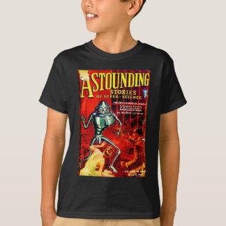 Vintage Zeitschrift Sci-FI T-Shirt
