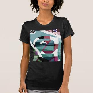 """Vintage """"zu"""" ladies black t shirt"""