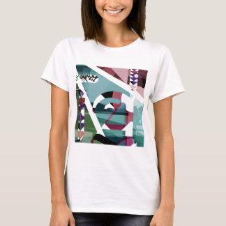 """Vintage """"zu"""" ladies whiter t shirt"""