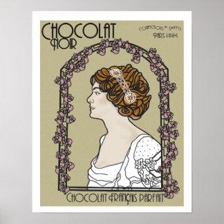 Vintager Anzeigenartdruck Poster