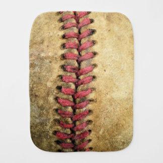 Vintager Baseball Baby Spucktuch