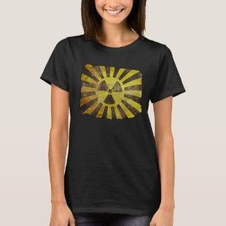 Vintager beunruhigter radioaktiver T - Shirt