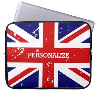Vintager Blick britische Computer Sleeve Schutzhüllen