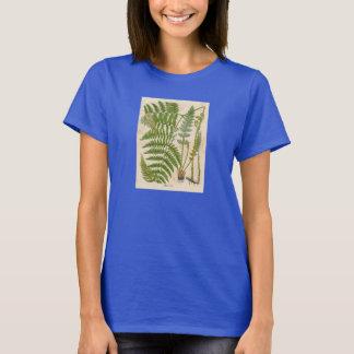 Vintager botanischer Druck - Adlerfarn/Farne T-Shirt